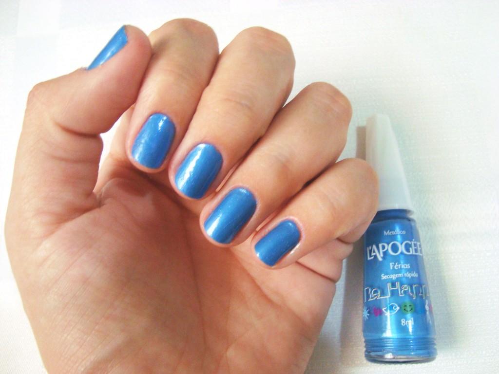 esmalte azul - esmalte férias L'Apogée