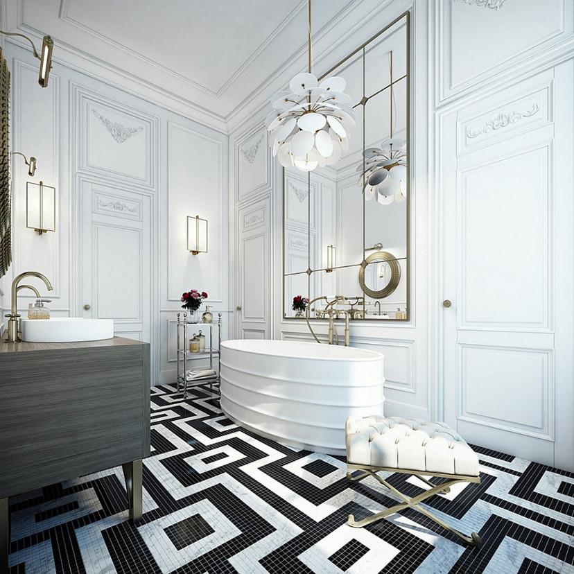 decoração azulejo geométrico