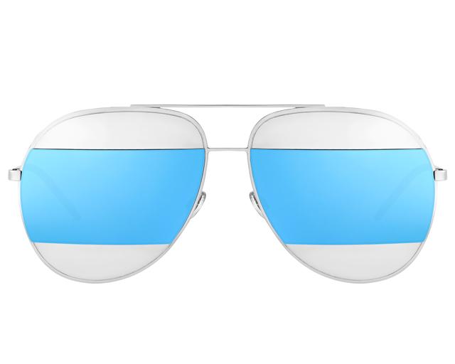 óculos Dior Split azul