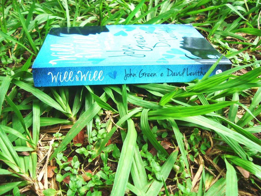 Lombada do livro - will e will - um nome, um destino
