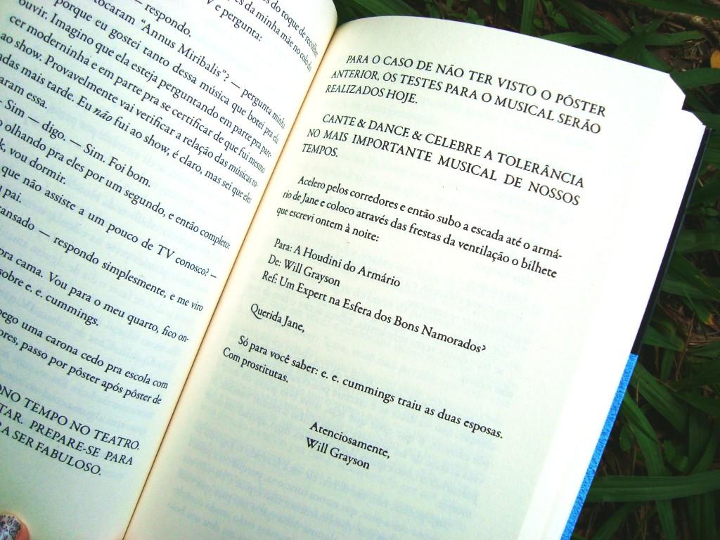 livro Will & Will - um nome, um destino