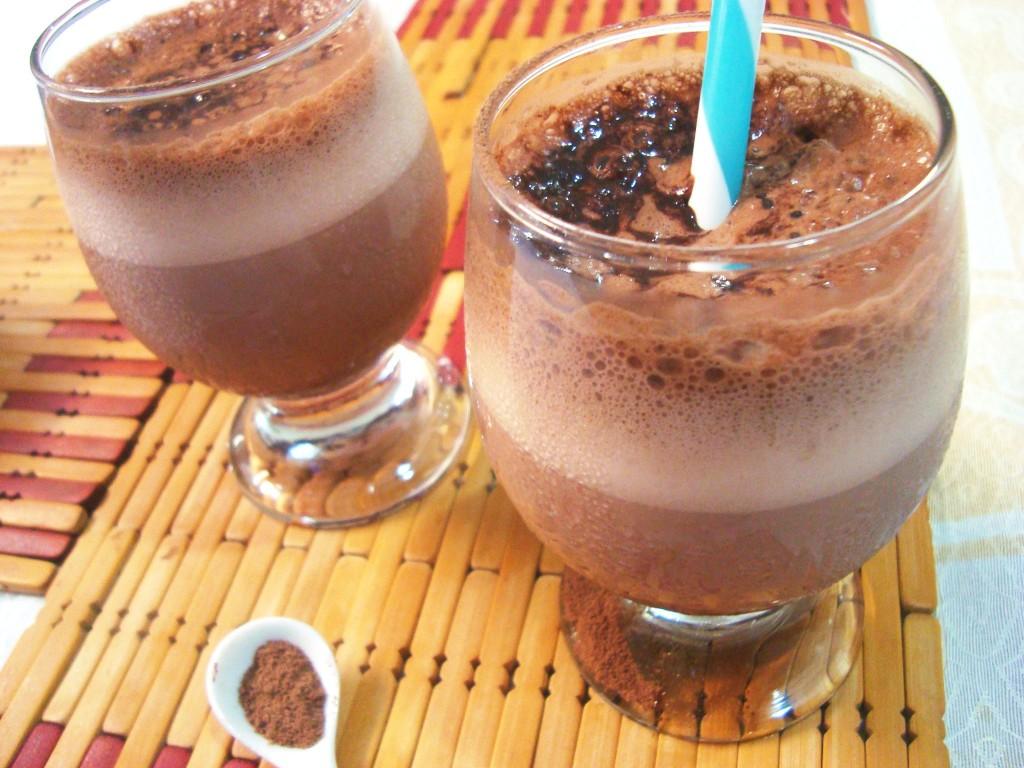 receita de chocolate quente para o verão