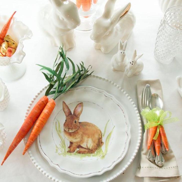 decoração da mesa de páscoa