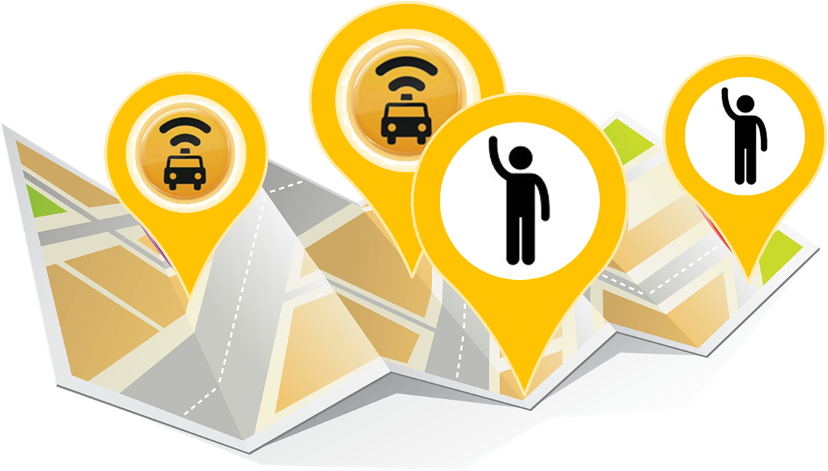 app de táxi e uber