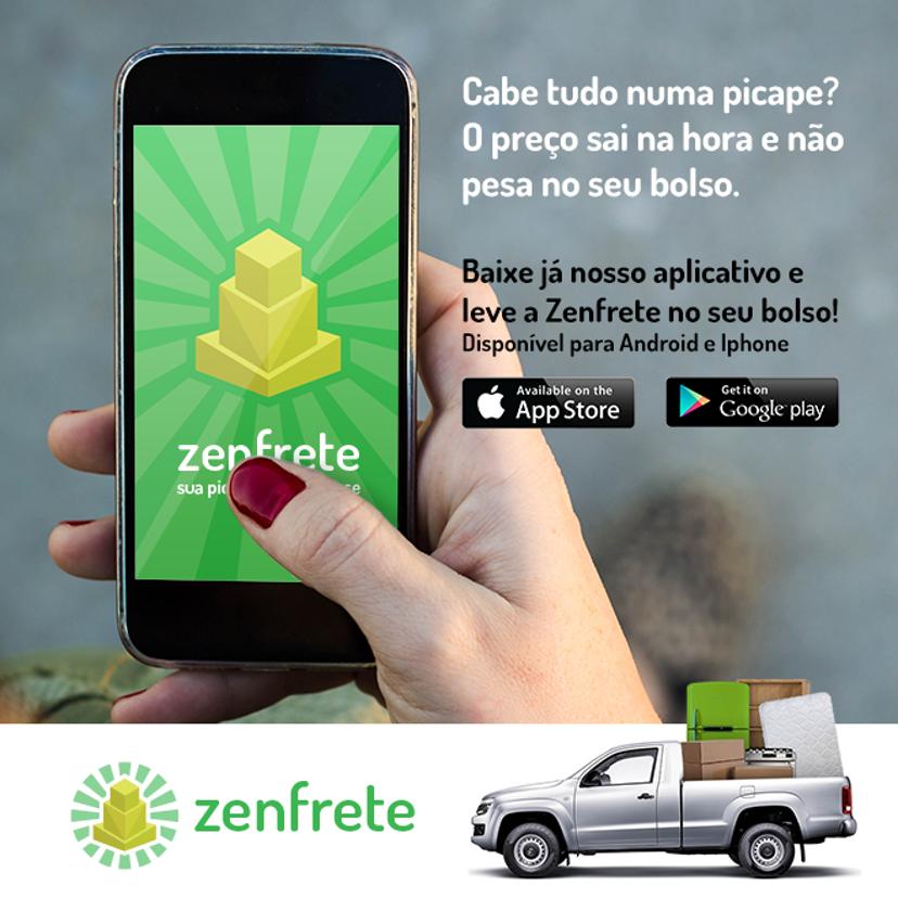 ZenFrete - aplicativo