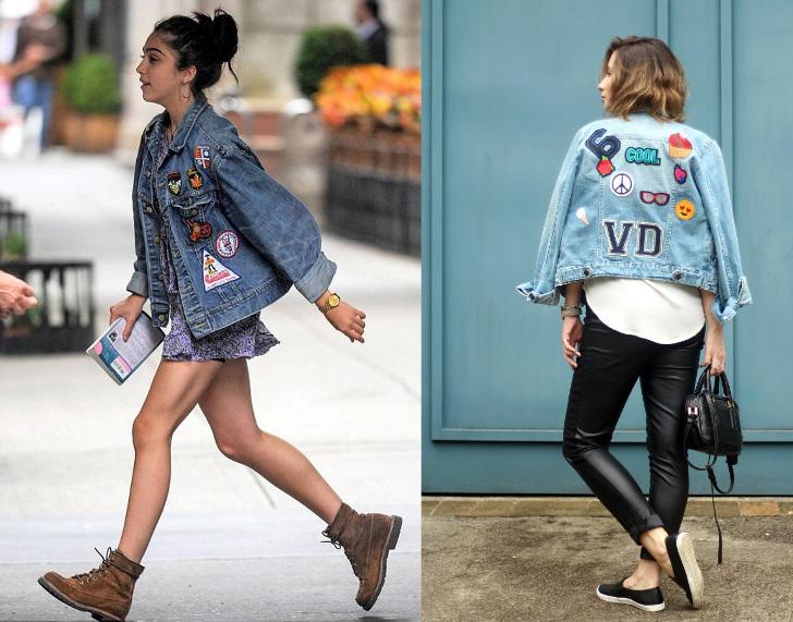 tendência - patches com jeans