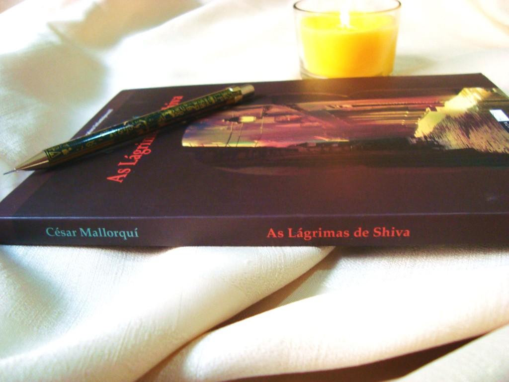 lombada do livro as lágrimas de shiva - resenha