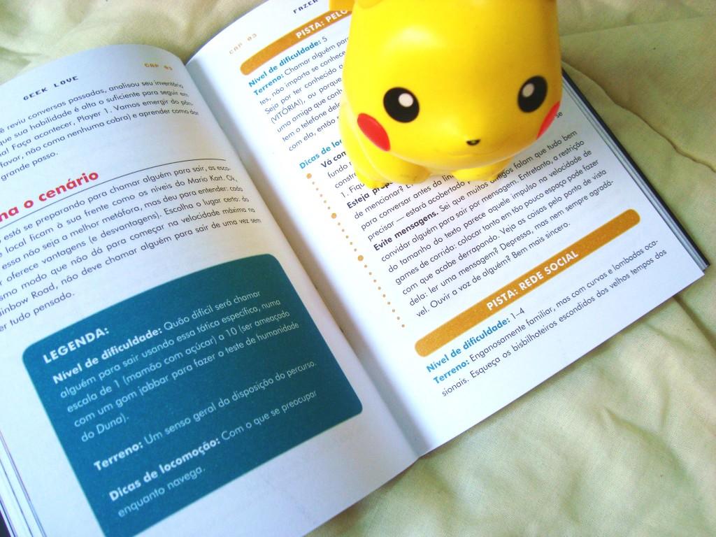 renha do livro Geek love ( pikachu)