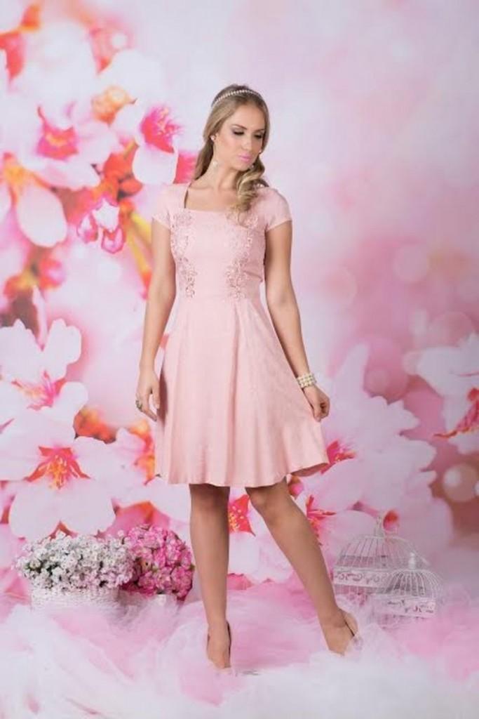 look rosa quartzo