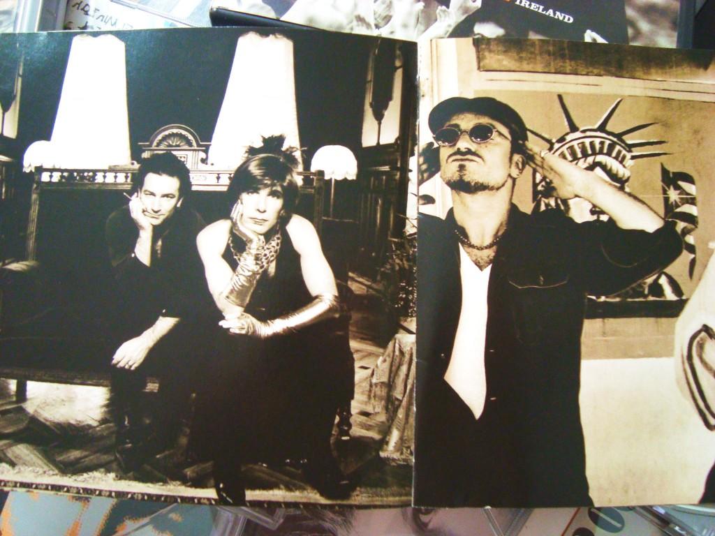 CD Achtung baby U2- Bono