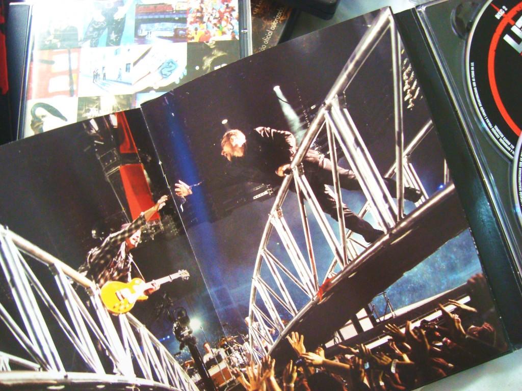 Encarte DVD 360 Tour - U2