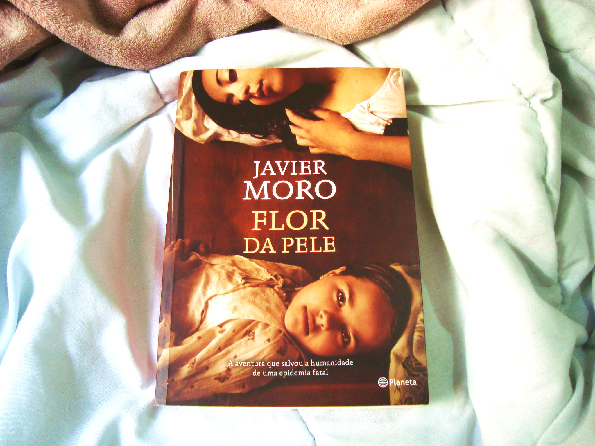 Flor da Pele - Livro - Javier Moro - Capa