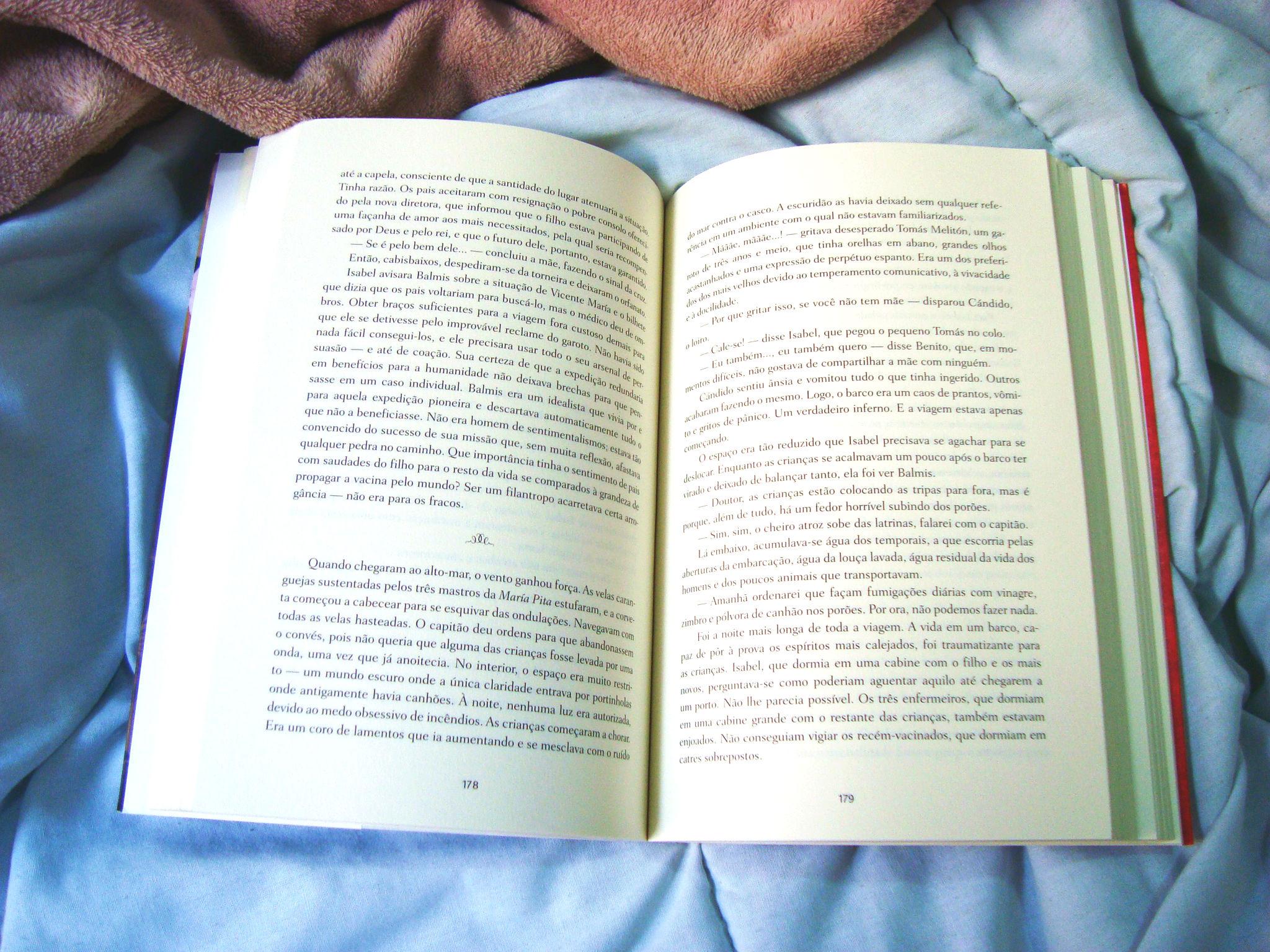 Página interna do livro Flor da Pele - Javier Moro