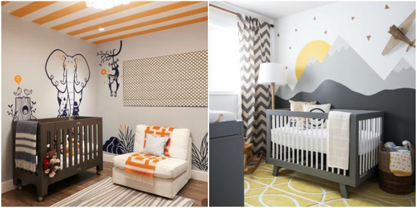 adesivo de parede na decoração - como colar adesivo de parede