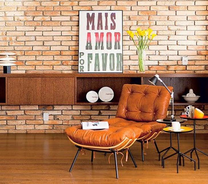 tipografia na decoração - poster