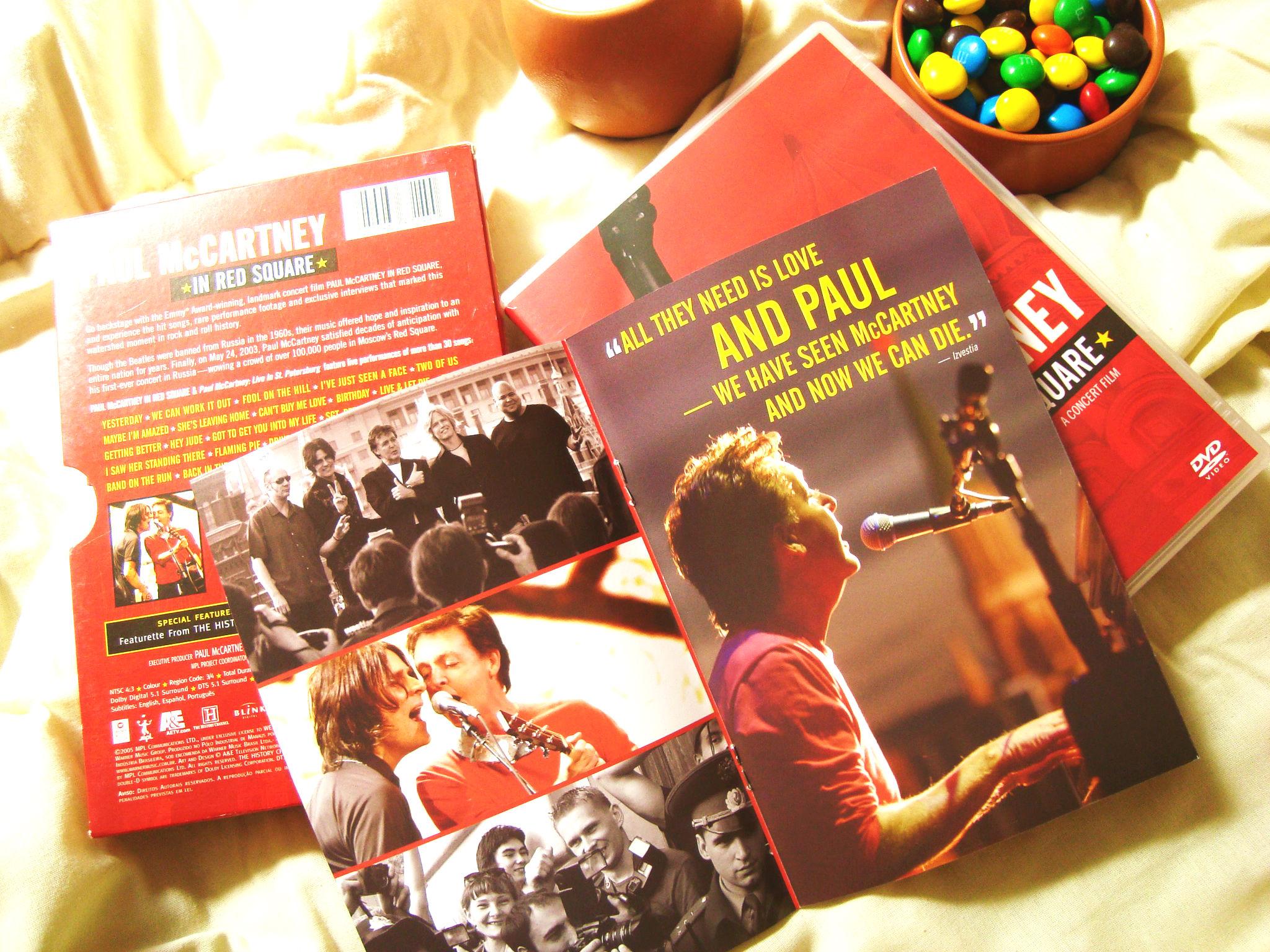 show Paul McCartney in Red Square para assistir no final de semana