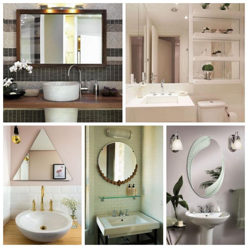 decor - espelho no banheiro