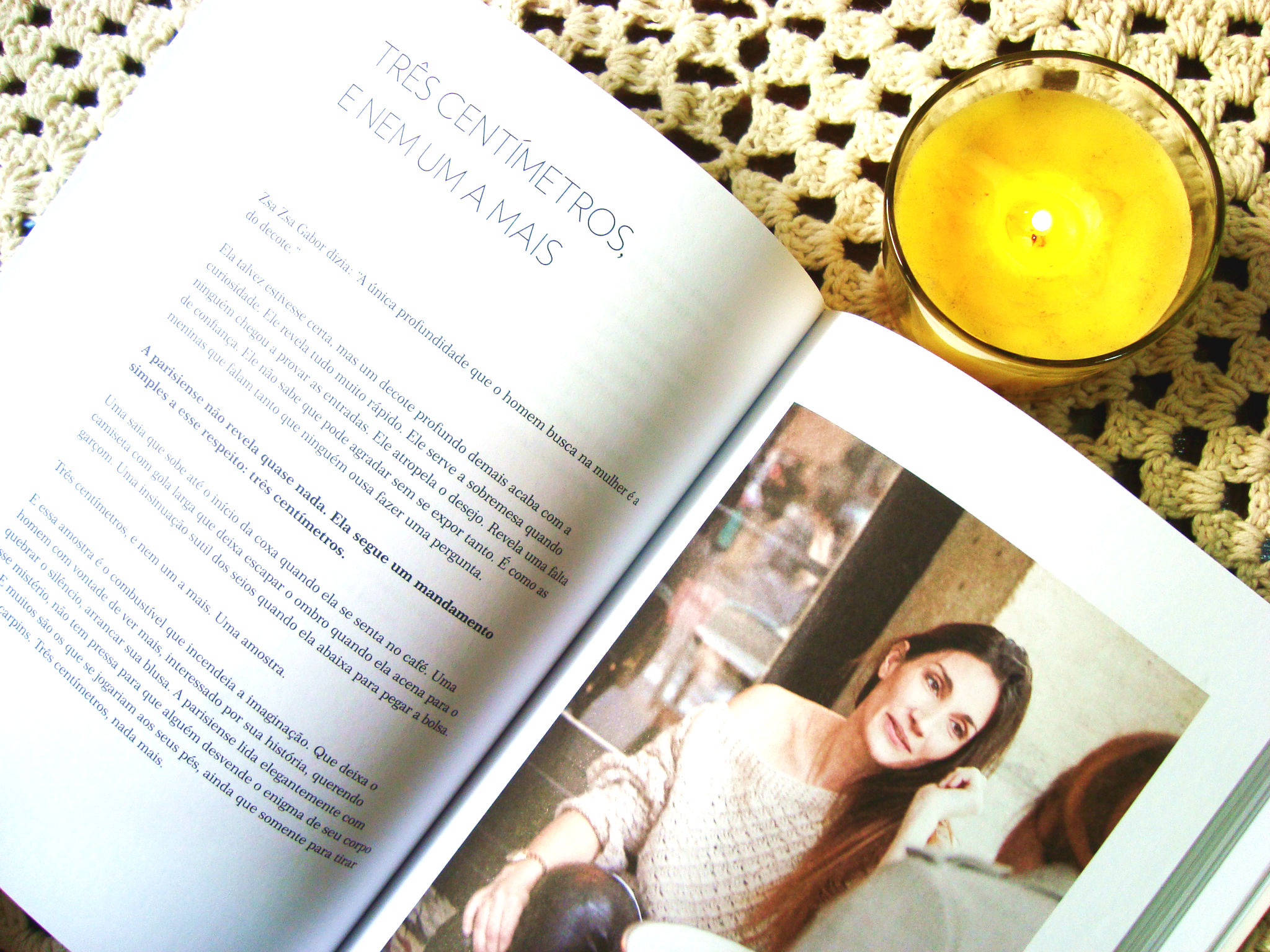 resenha do Livro - Como ser uma parisiense em qualquer lugar do mundo