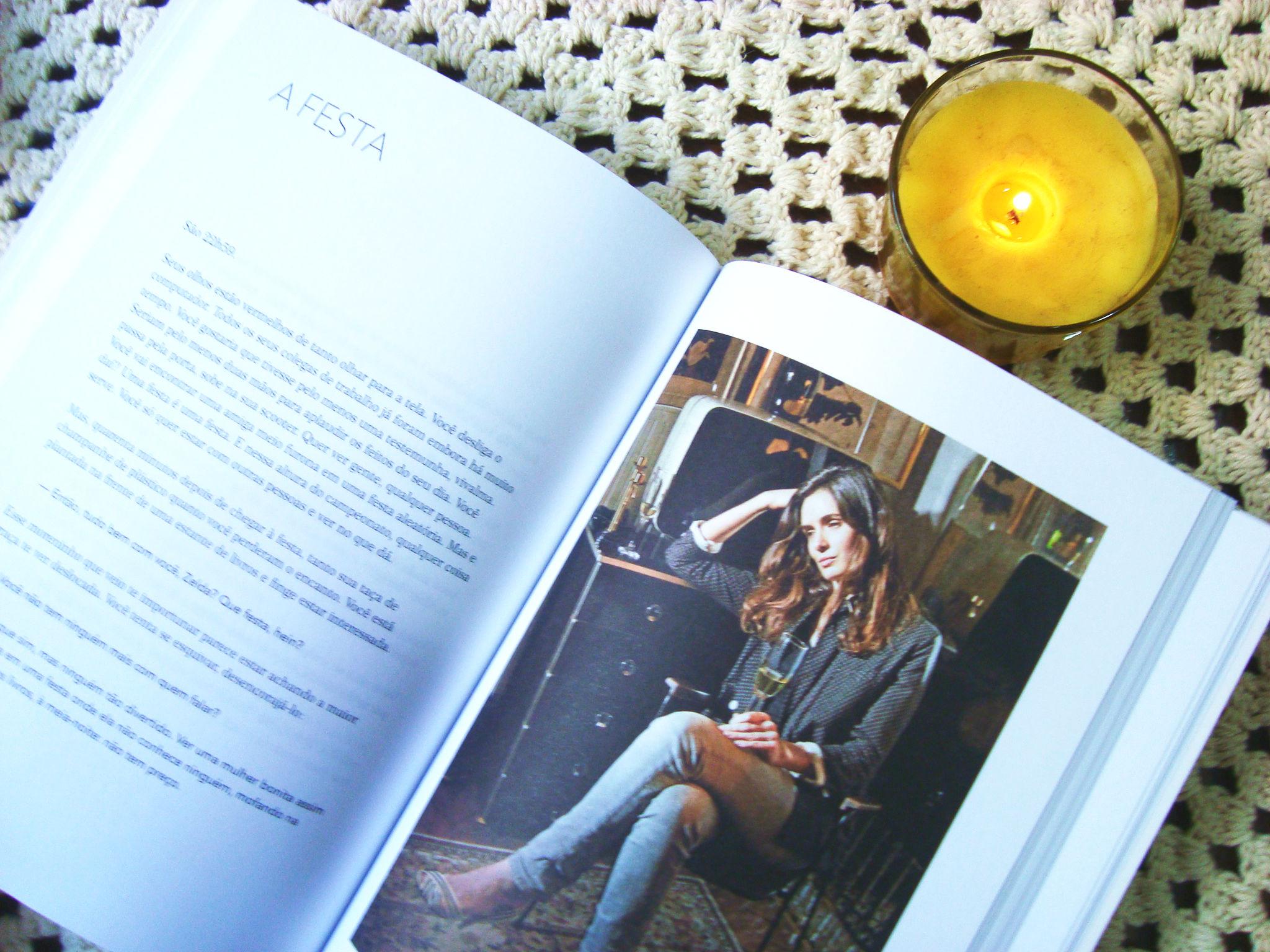 páginas do livro - como ser uma parisiense em qualquer lugar do mundo