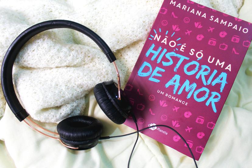 LIVRO – não é só uma história de amor de Mariana Sampaio