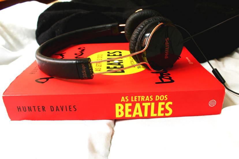 As letras dos Beatles - Lombada do livro