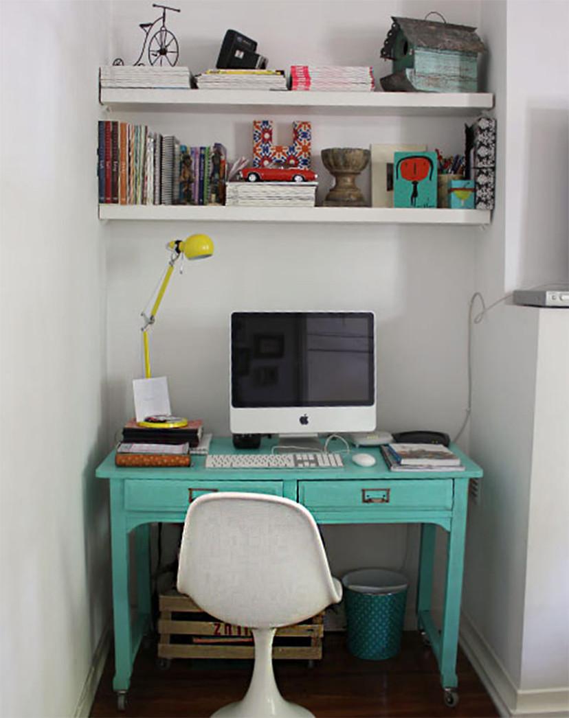 decoração de escritório pequeno