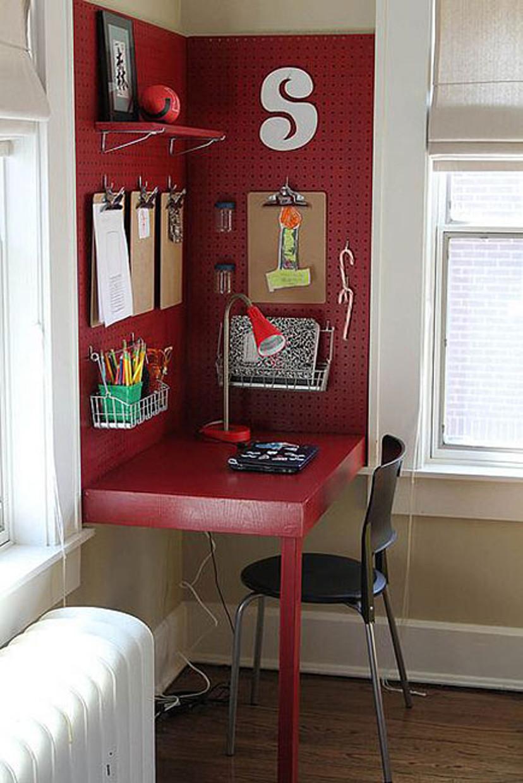 como decorar um home office pequeno