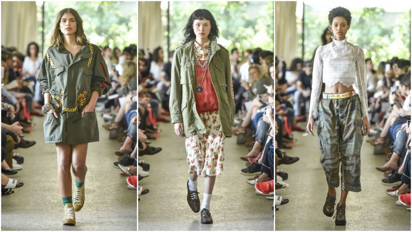 à la garçonne - São Paulo Fashion Week