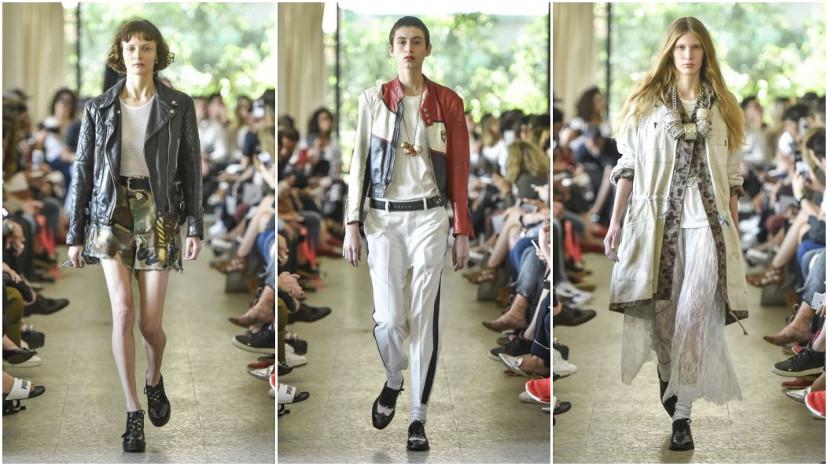 desfile à la garçonne - são paulo fashion week