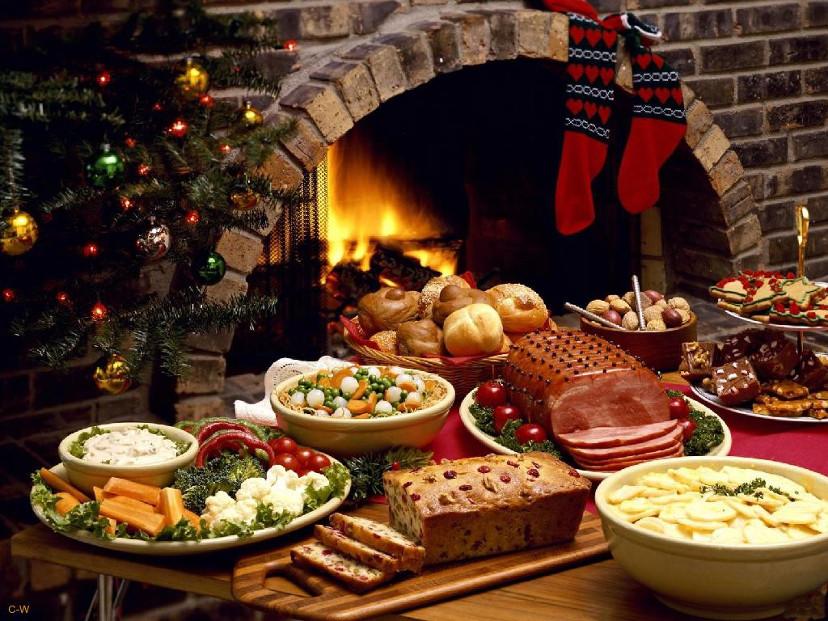 comidas de natal - decoração