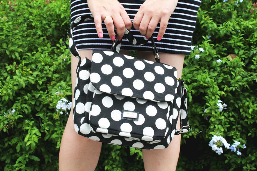 bolsa de bolinha - como usar