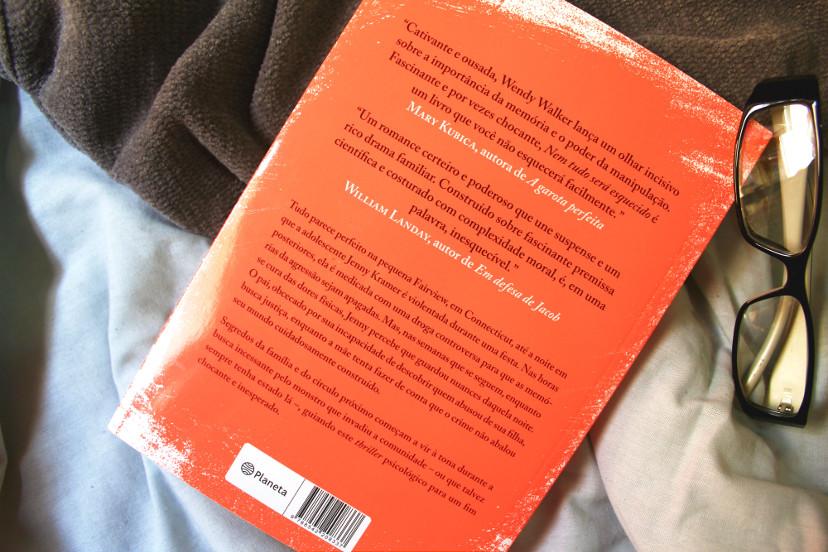 resenha - nem tudo será esquecido - livro