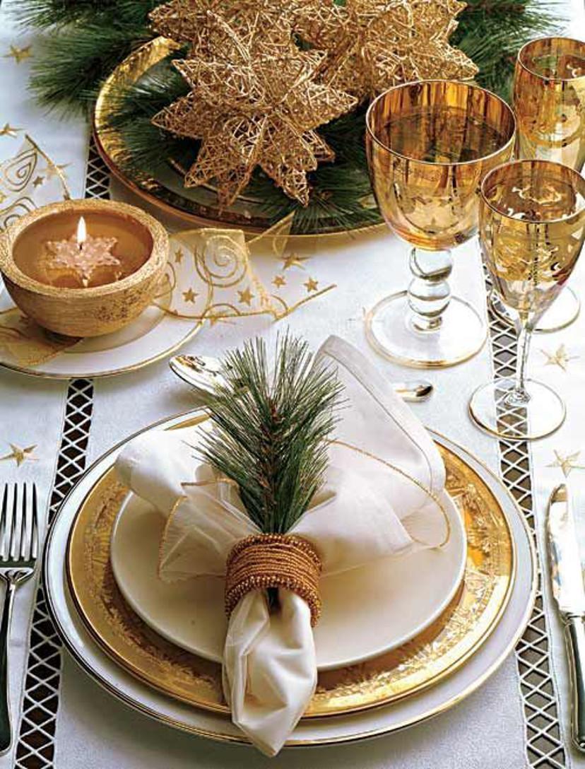 Como decorar a mesa de natal