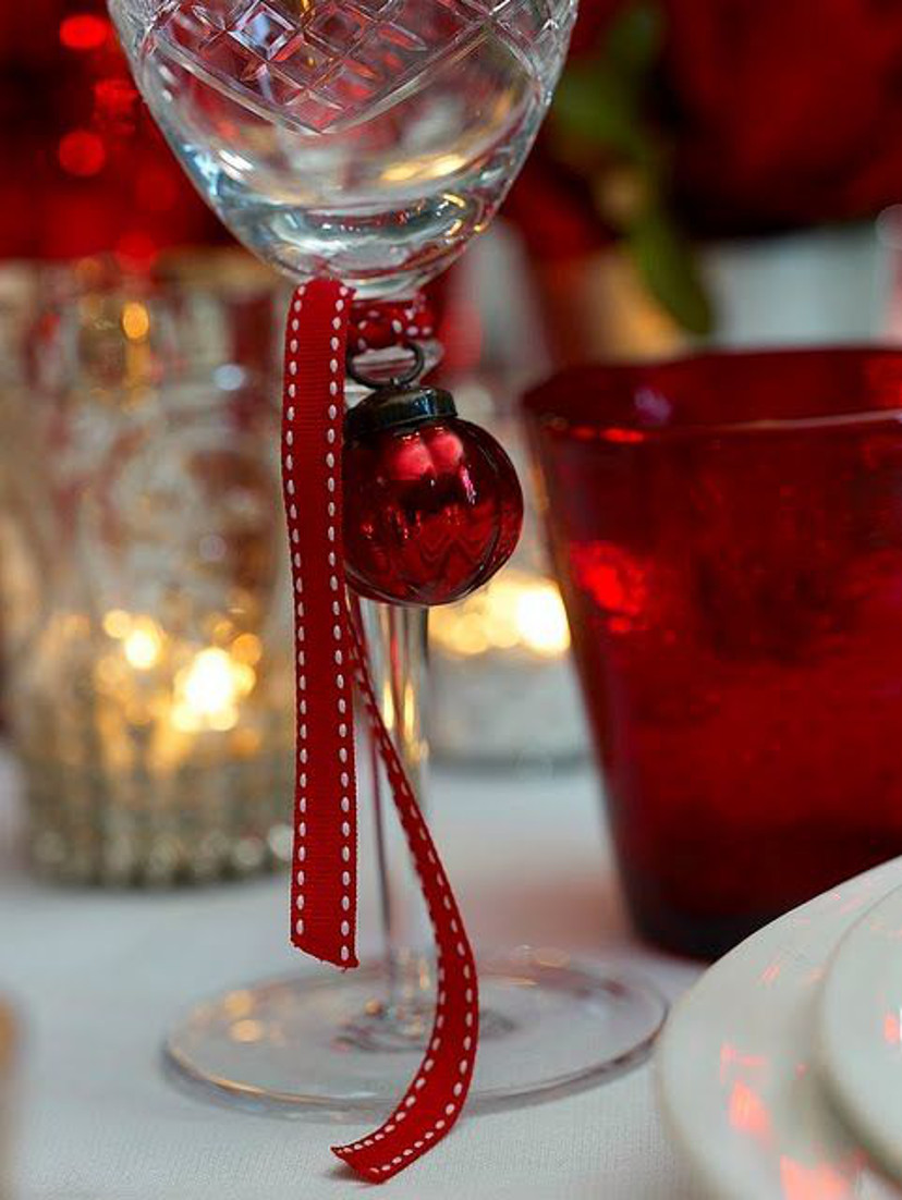 decoração fácil e barata para o natal