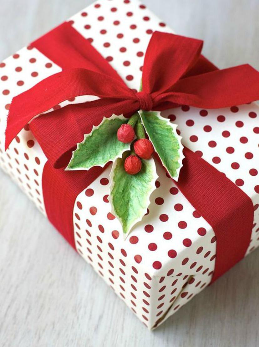 embrulhos natalinos de presentes