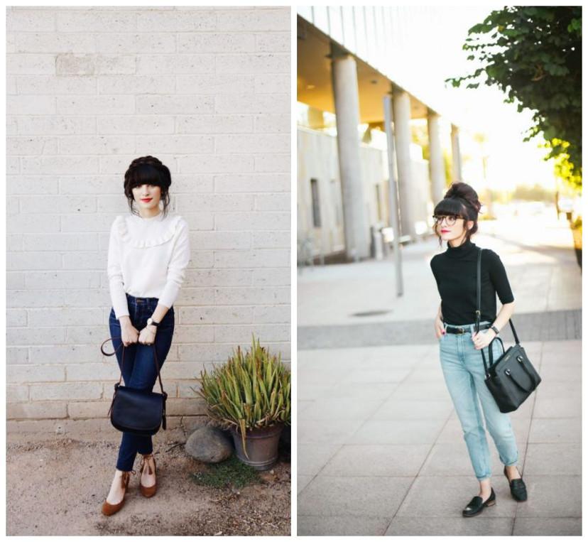 como usar look minimalista