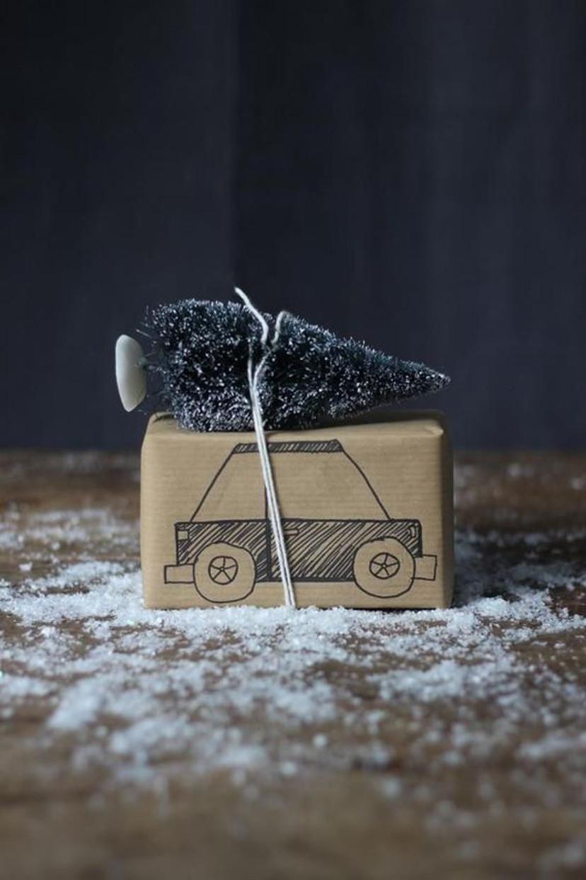 como fazer embrulhos divertidos para presentes
