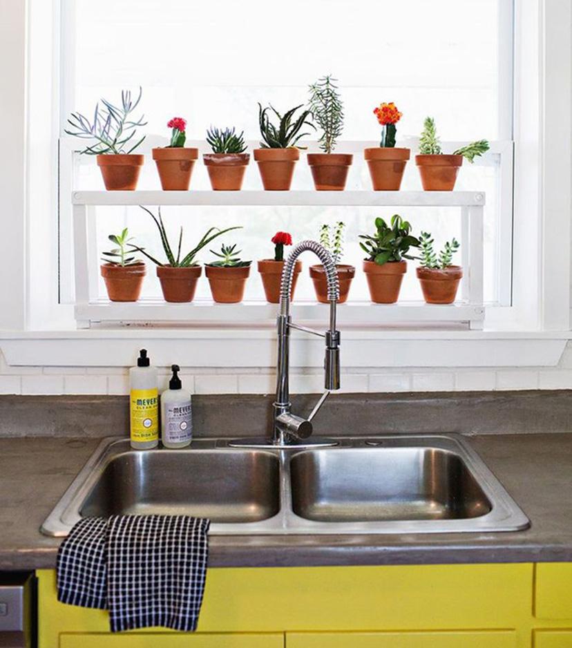 decor: como usar prateleira na cozinha