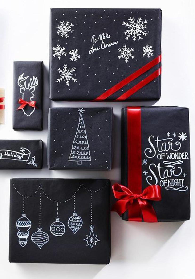 dicas de como embrulhas seus presentes de natal