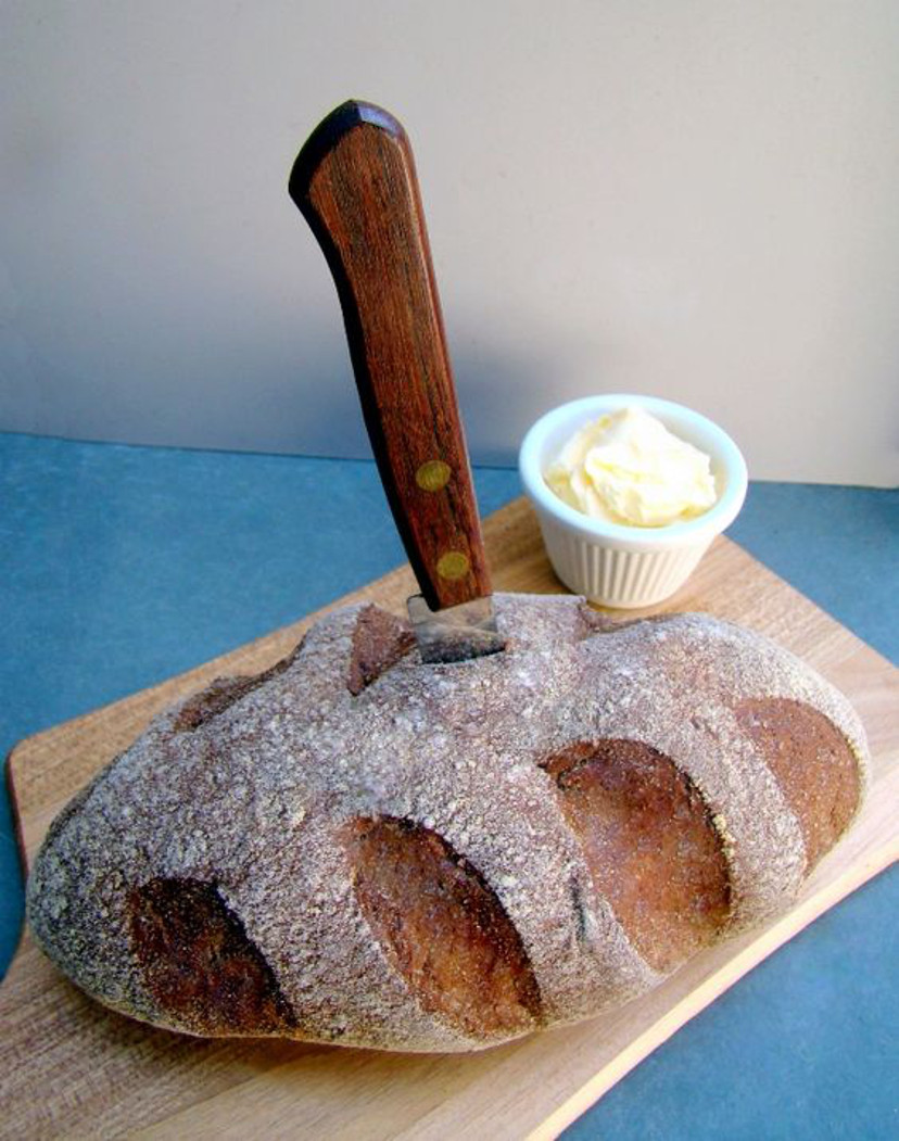 pão com patê