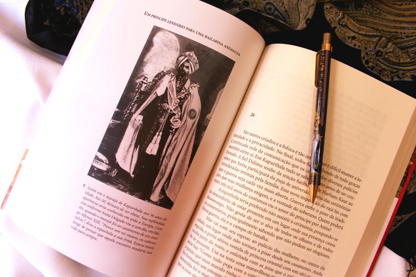 páginas do livro Paixão índia de Javier Moro