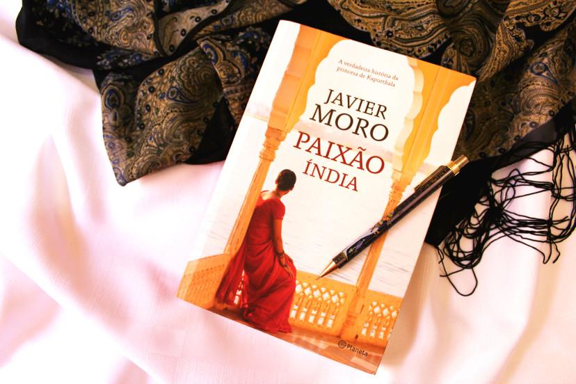 livro - paixão índia de javier moro - resumo