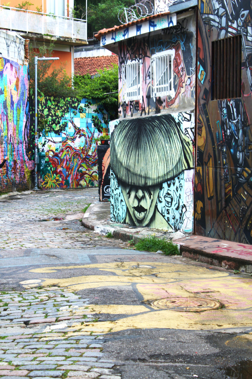 the brazilian graffiti - Batman's Alley