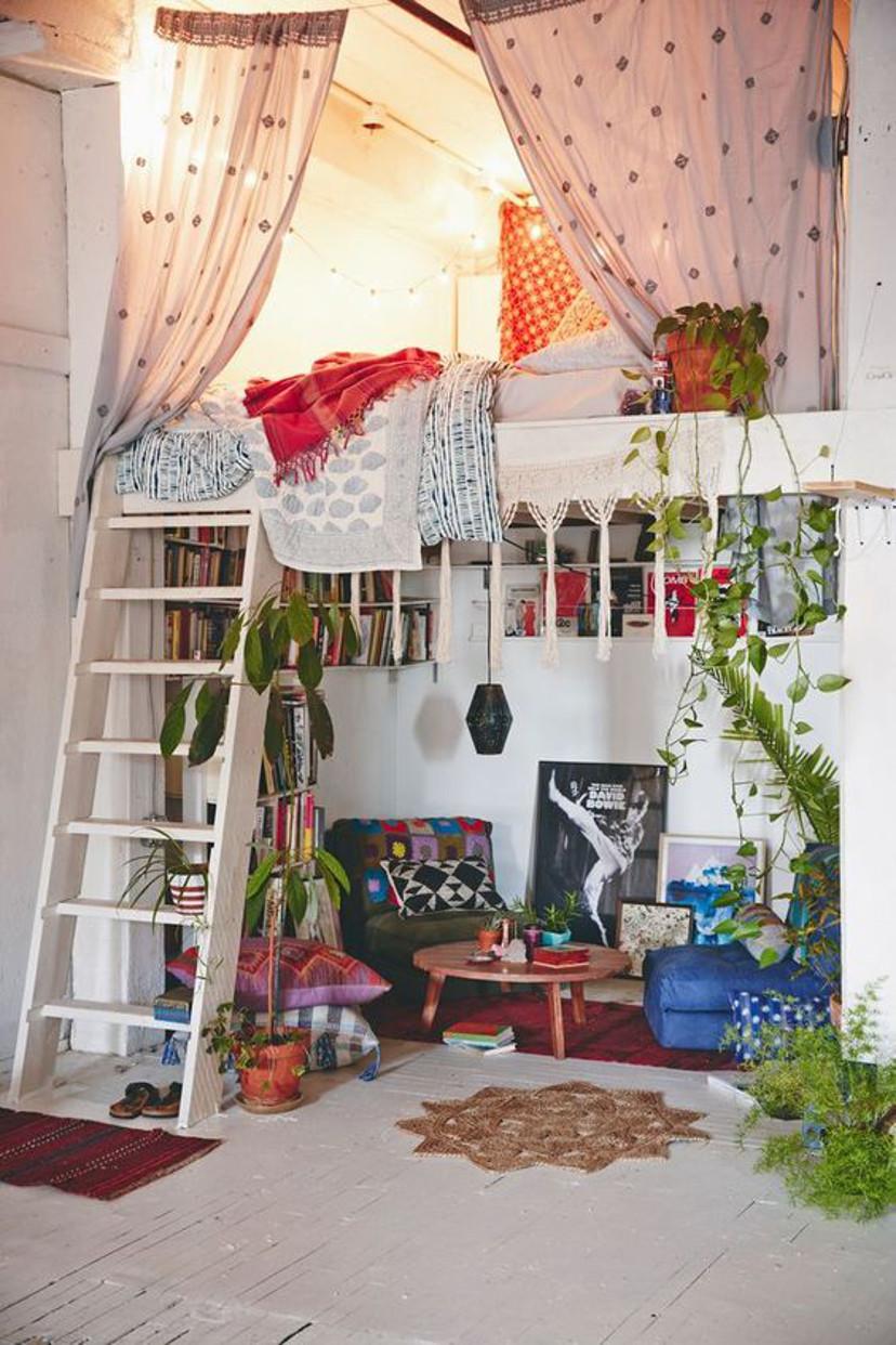 como decorar um mezanino