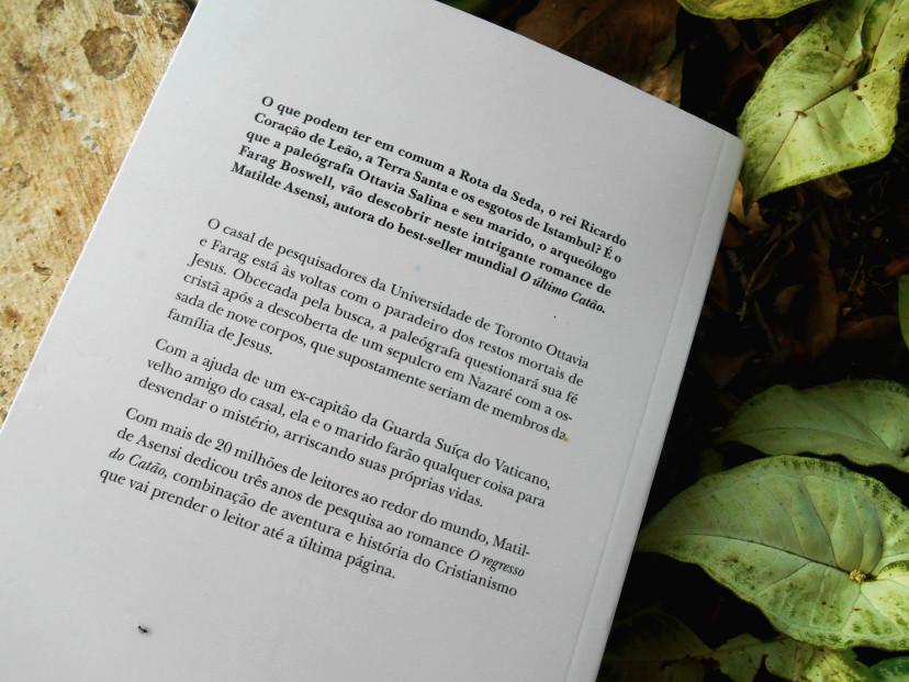 resumo - o regresso do catão - matilde asensi