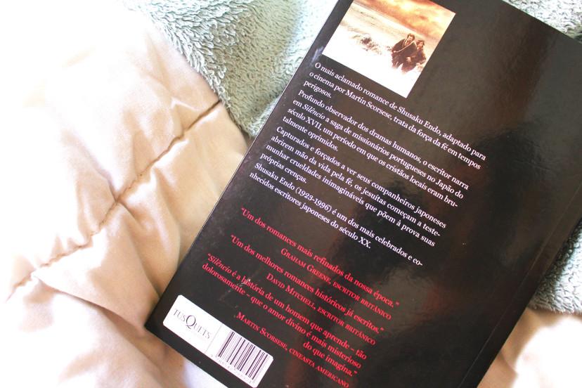 livro silêncio de Shusaku Endo - resenha