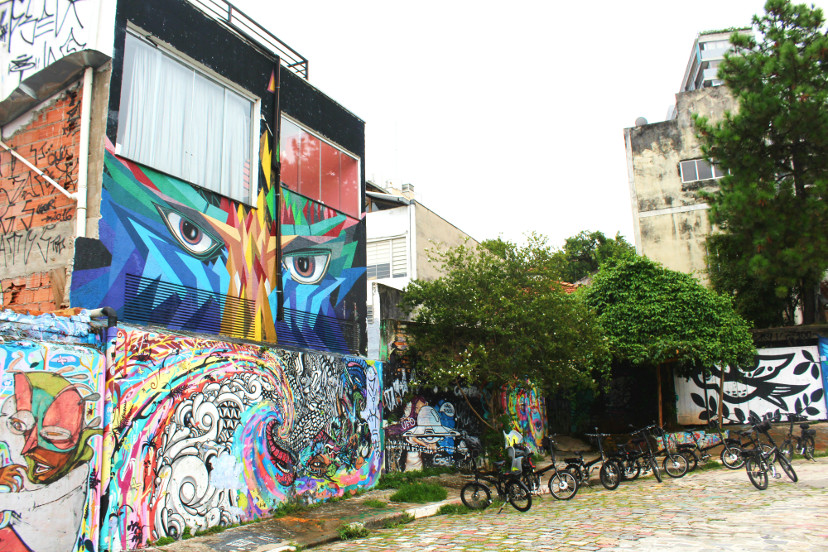 fotos no beco do batman