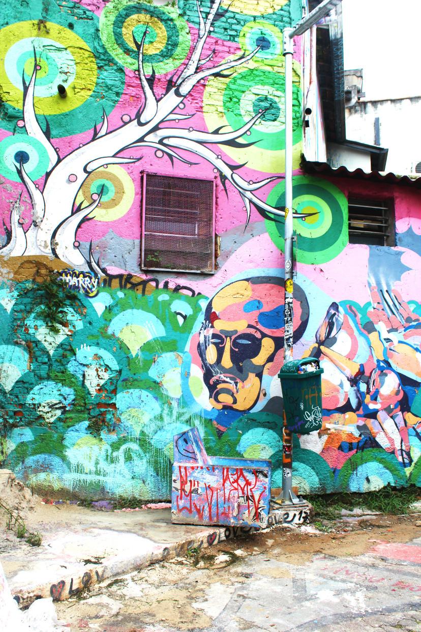 o que fazer no Beco do Batman em São Paulo