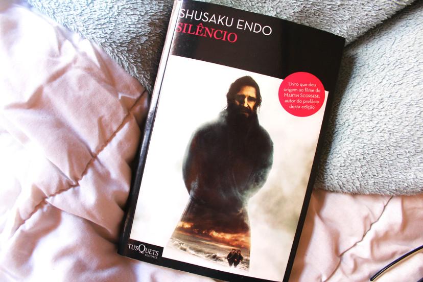 livro - Silêncio de Shusaku Endo