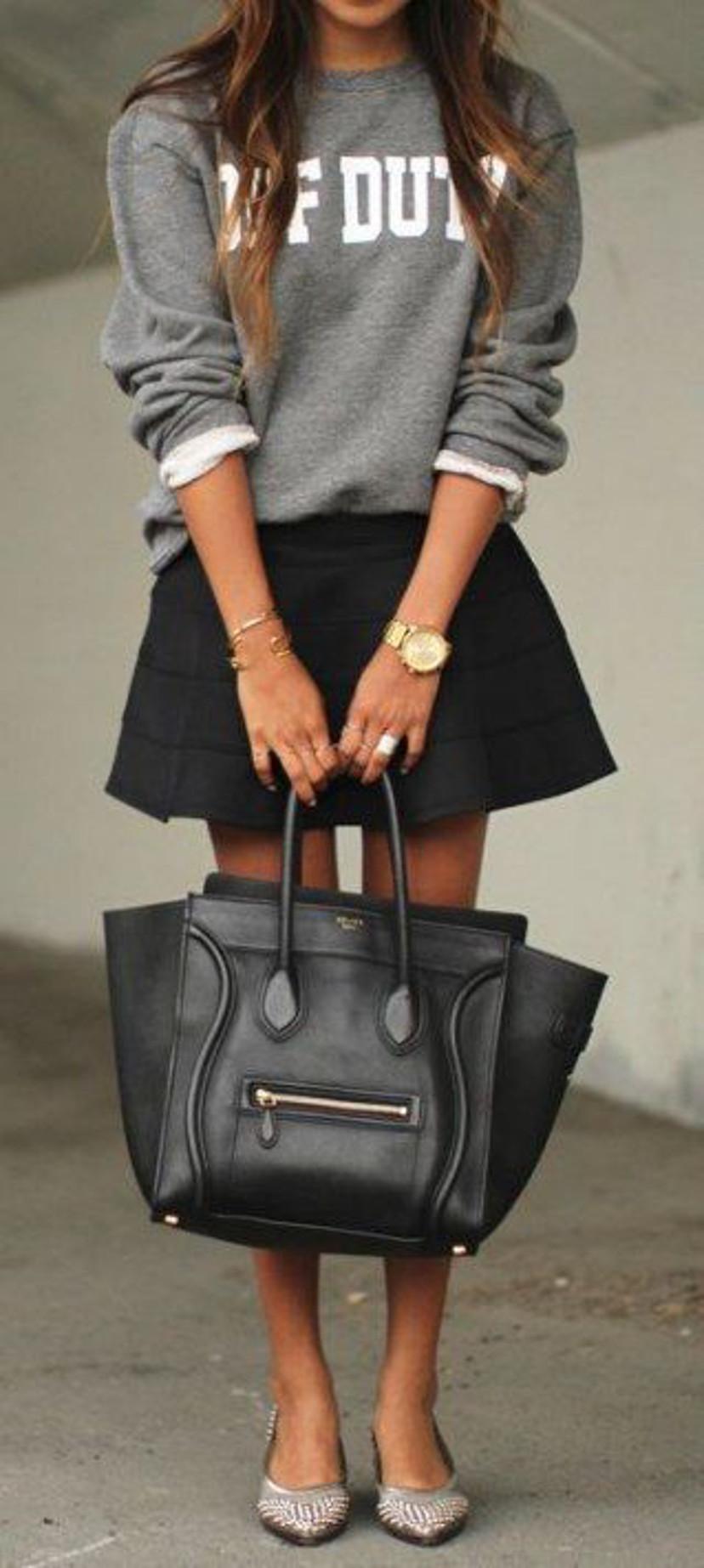 moletom com saia - como usar